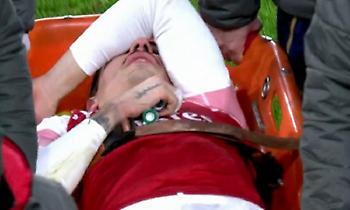Η στιγμή του σοβαρού τραυματισμού του Μπεγερίν
