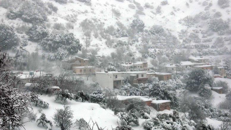 Στο ένα μέτρο το ύψος χιονιού στα Λευκά Όρη της Κρήτης