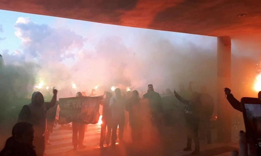 Αποθέωση για Παναθηναϊκό στη Λήμνο! (pics)
