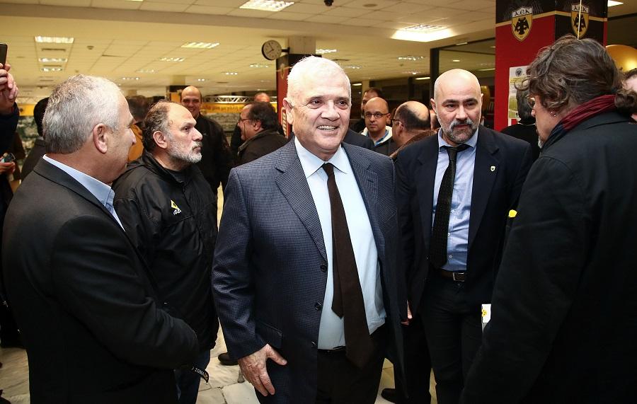 Mε Μελισσανίδη, Λυμπερόπουλο και Ουζουνίδη η γιορτή των παλαιμάχων της ΑΕΚ