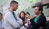 Ανδρεόπουλος: «Δεν είχαμε διάρκεια από το τέλος του τρίτου σετ και μετά»