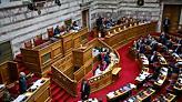 Βουλή: Ένταση και διακοπή στη συζήτηση για την Συμφωνία των Πρεσπών