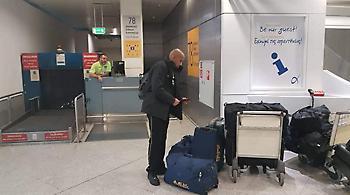 Πέταξε για Μαδρίτη η ΑΕΚ (pics)