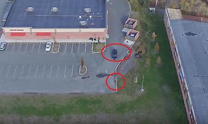 Σήκωσε drone και έκανε τη γυναίκα του «τσακωτή» με άλλον – Καρέ καρέ η «σύλληψη» (vid&pics)