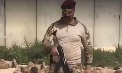 Κομάντο στο Ιράκ: Δείτε πως εκπαιδεύονται - Πυροβολούν ανάμεσα στα πόδια τους (video)