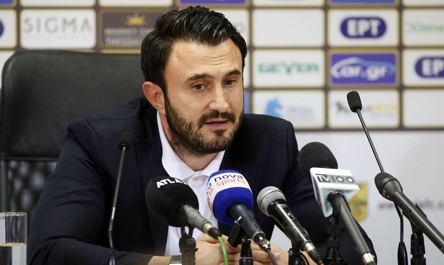 Καρυπίδης: «Σκέφτηκα να φύγω, θέλουμε τη στήριξη του κόσμου»