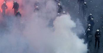 Αστυνομία: Κάναμε απολύτως αναγκαία χρήση δακρυγόνων στο συλλαλητήριο (vid)