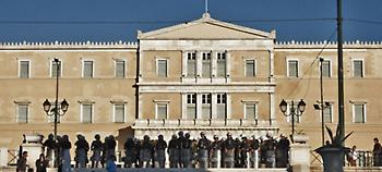 «Φρούριο» η Βουλή την ημέρα ψήφισης της Συμφωνίας των Πρεσπών