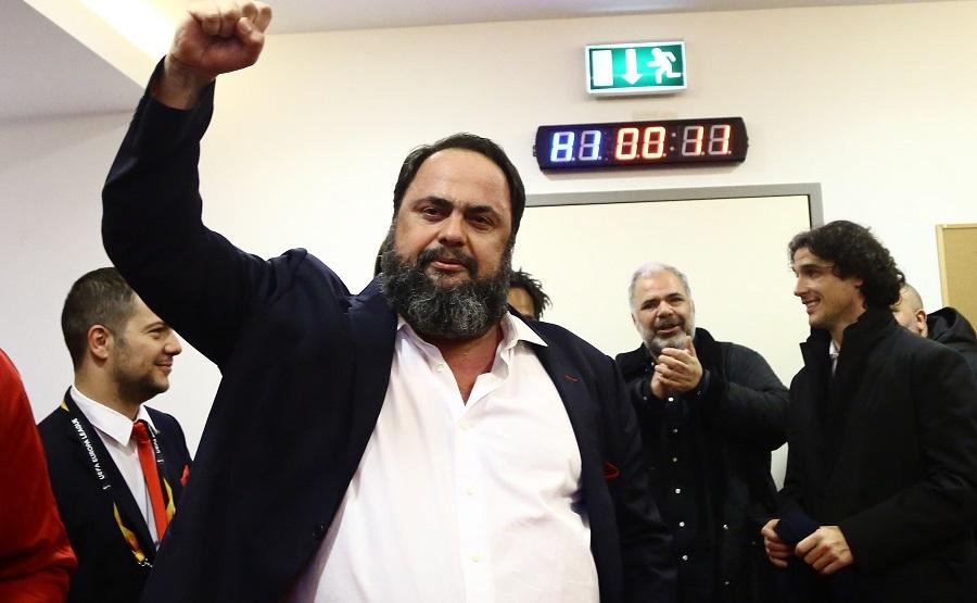 Μαρινάκης: «Δική μας ευθύνη που χάσαμε το πρωτάθλημα»