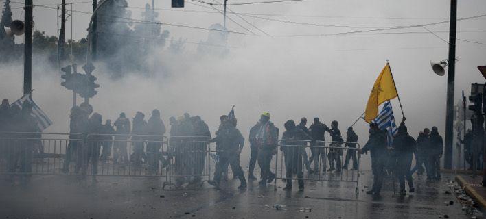 Στην αντεπίθεση η Παμμακεδονική Συνομοσπονδία - Προχωρά σε μήνυση για τα επεισόδια στο συλλαλητήριο