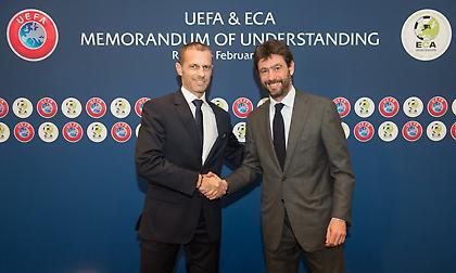 Νέο μνημόνιο συνεργασίας UEFA-Συλλόγων μέχρι το 2024