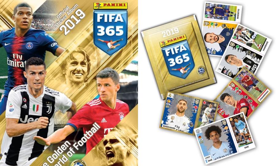 Οι νικητές για τα άλμπουμ Panini Fifa 365