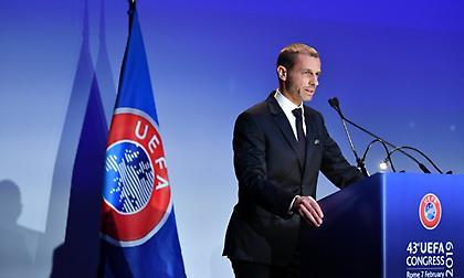 Επανεξελέγη στην προεδρία της UEFA ο Σέφεριν