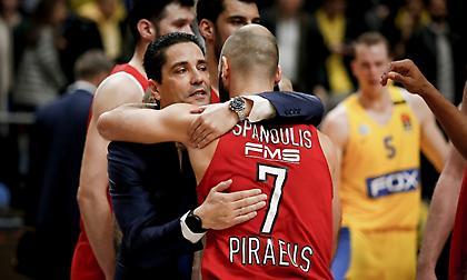 Σφαιρόπουλος: «Πάντα στην καρδιά μου ο Ολυμπιακός»