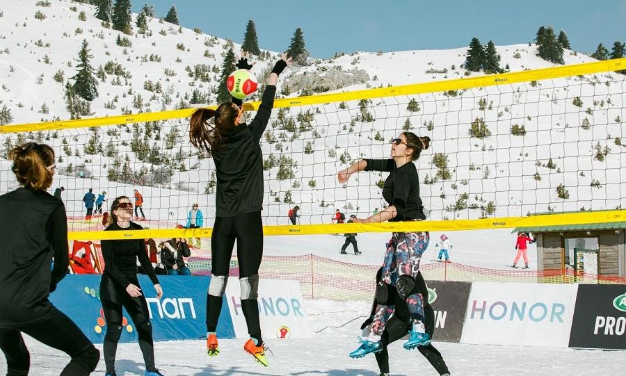 Καραμπέτσος στον ΣΠΟΡ FM: «Το snow volley θα φέρει κόσμο και στη σάλα»