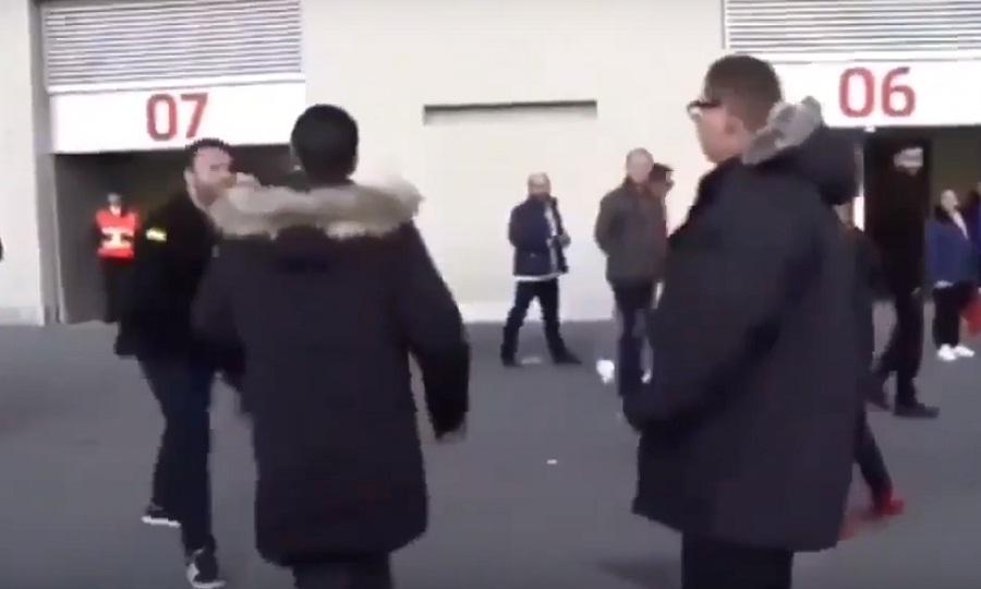 Οπαδός της Ατλέτικο επιτέθηκε σε δύο της Ρεάλ (video)