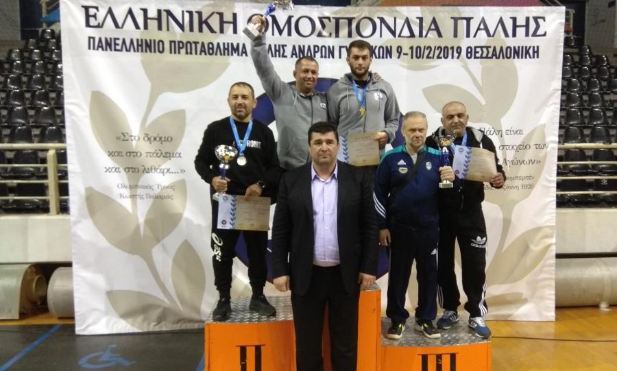 Ευκαρπία και Ήφαιστος Βαθυλάκου πρωταθλητές Ελλάδας στην πάλη