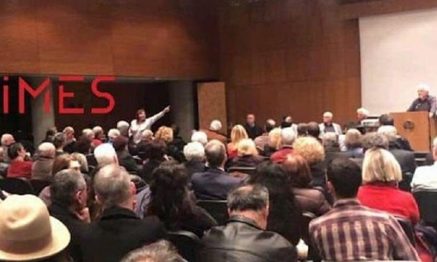 «Ξεπουλήσατε τη Μακεδονία», φώναξαν στον βουλευτή του ΣΥΡΙΖΑ, Τριαντάφυλλο Μηταφίδη