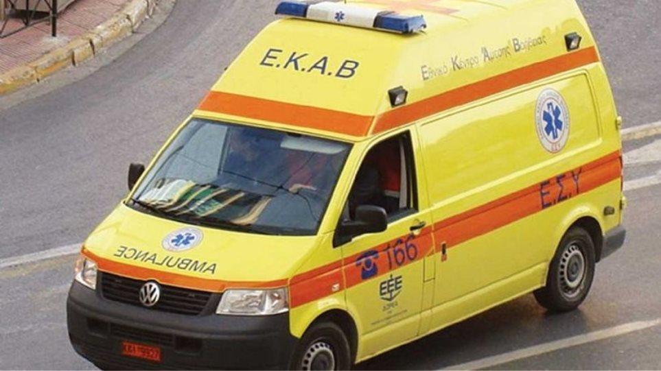 Κρήτη: Τροχαίο ατύχημα με δύο τραυματίες στο Ηράκλειο