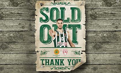 Sold out το Παναθηναϊκός-Ολυμπιακός!