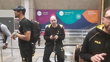 Έφτασε στο Ρίο η ΑΕΚ (pics)