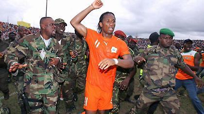 Ο Ντιντιέ Ντρογκμπά σταμάτησε τον εμφύλιο πόλεμο στην Ακτή Ελεφαντοστού