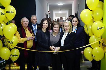 «Η bwin εγκαινίασε στην ΕΛΕΠΑΠ Θεσσαλονίκης την πρότυπη αίθουσα αισθητηριακής ολοκλήρωσης»