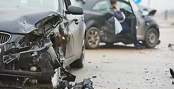 Καραμπόλα 8 αυτοκινήτων στη Θεσσαλονίκη με μία γυναίκα τραυματία