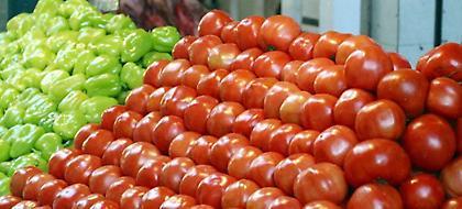 Δέσμευσαν πάνω από 2 τόνους ακατάλληλες ντομάτες και πιπεριές στον Πειραιά