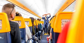 Κλωτσιές και μπουνιές στην πτήση της Ryanair από Γλασκώβη προς Μάλαγα