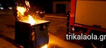 Συνελήφθη 30χρονος που έβαζε φωτιά σε κάδους