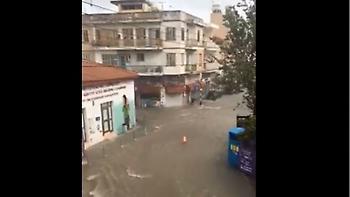 Κακοκαιρία στην Κύπρο: Σε «Βενετία» μεταμορφώθηκε η Λεμεσός λόγω βροχών