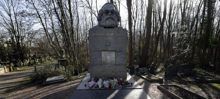 Βεβήλωσαν ξανά τον τάφο του Μαρξ -Δεύτερη φορά σε 2 εβδομάδες