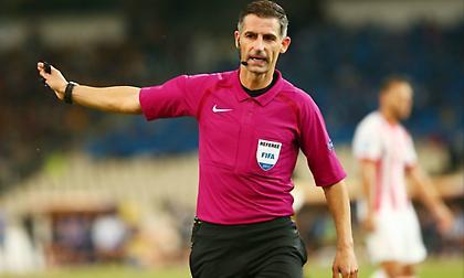 Στο Νάπολι-Ζυρίχη ορίστηκε από την UEFA ο Τάσος Σιδηρόπουλος