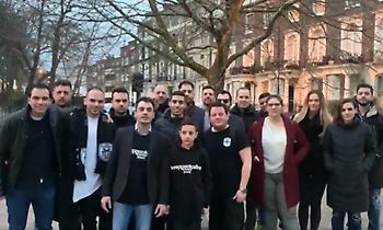 Μήνυμα στήριξης στην ΚΑΕ ΠΑΟΚ από το Λονδίνο (video)