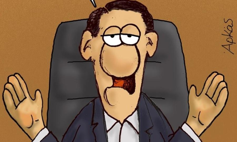 Αρκάς: Νέο, δηκτικό σκίτσο για τον Αλέξη Τσίπρα