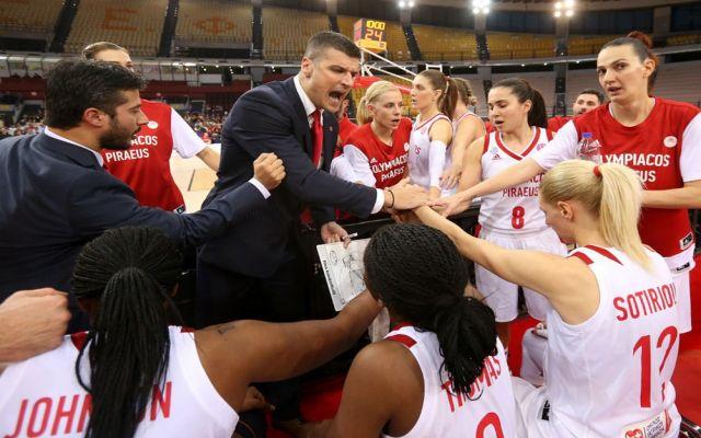 Φινάλε στην EuroLeague γυναικών για τον Ολυμπιακό