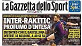 Gazzetta dello Sport: «Ένα βήμα από την Ίντερ ο Ράκιτιτς»