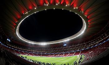 LIVE: Ατλέτικο Μαδρίτης-Γιουβέντους 0-0