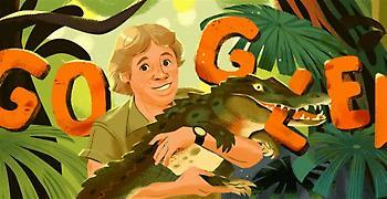 Αφιερωμένο στον «κροκοδειλάκια» το doodle της Google