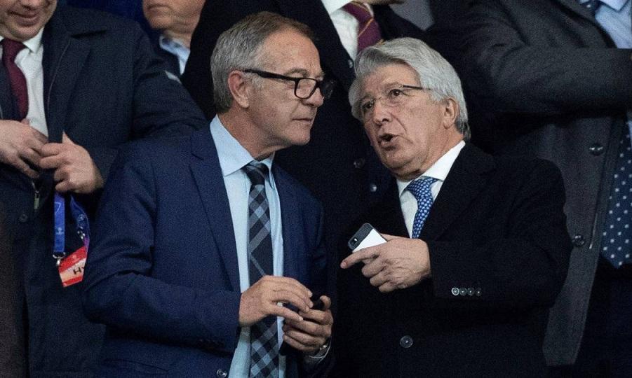 Ο πρόεδρος της Ατλέτικο Μαδρίτης έπαθε… Λουτσέσκου και Χιμένεθ!