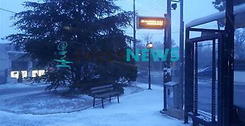 H Ωκεανίς άρχισε: Με χιόνια ξυπνά η Θεσσαλονίκη - Τι θα γίνει σε Αθήνα (pic-video)