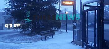 Χιονίζει από τα ξημερώματα στη Θεσσαλονίκη - Ποιοι δρόμοι έχουν κλείσει