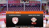 Live Streaming: Ολυμπιακός-Βενέτσια (Next Generation Tournament)