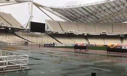Η εικόνα του ΟΑΚΑ λίγες ώρες πριν το ματς με τον Απόλλωνα (video)