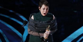 Στην Ολίβια Κόλμαν για το The Favourite το Όσκαρ Α' Γυναικείου Ρόλου
