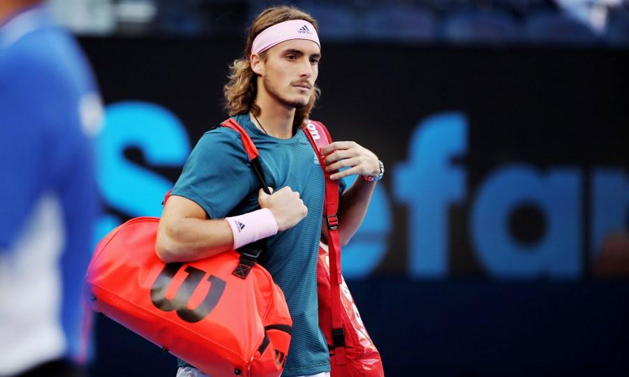 Με Τσιτσιπά η Εθνική τένις στο Davis Cup