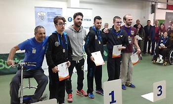 Σε τουρνουά Α.με.Α. σε Ιταλία και Ισπανία τέσσερις Έλληνες διεθνείς το πινγκ πονγκ