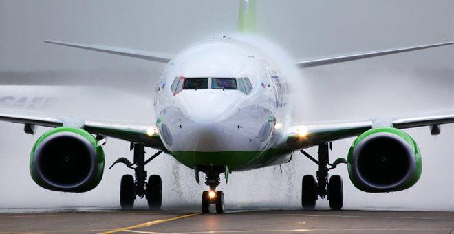 Αναγκαστική προσγείωση αεροσκάφους Boeing 737 - 800 στη Ρωσία