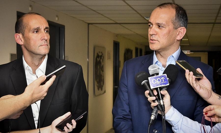 Γ. Αγγελόπουλος: «Στη σύσκεψη διαπιστώθηκε θέμα για την αξιοπιστία της διαιτησίας»